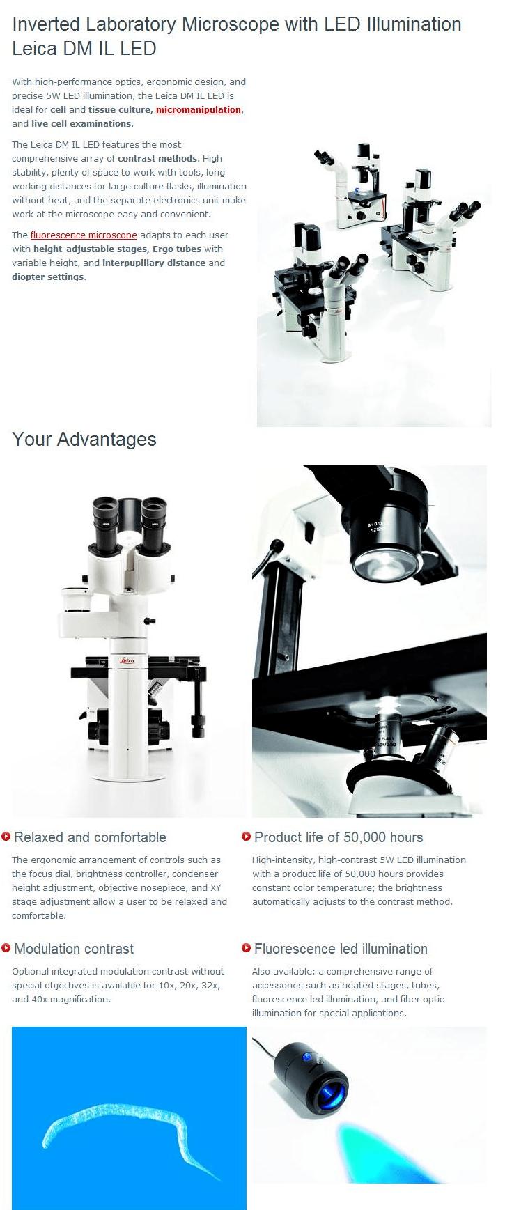 DMIL徕卡倒置显微镜-2